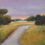 Golden Marsh giclee art print