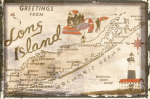 Greetings from Long Island giclee art print