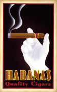 Habanas Quality Cigars giclee art print