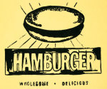 Hamburger, c. 1985-1986 giclee art print