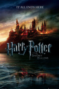 Harry Potter and the Deathly Hallows - Teaser art print