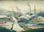 Industrial Panorama art print