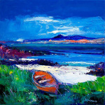 Iona and Ben More, Mull art print