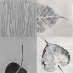 Leaf Quad giclee art print