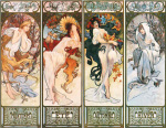 Les Saisons, 1897 art print