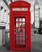 London - Phonebox art print