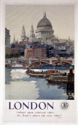 London - St Pauls Cathedral art print