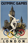 London 1948 Olympics art print