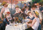 Luncheon of the Boating Party giclee art print