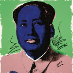Mao, 1972 (Blue) giclee art print