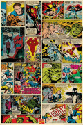 Marvel Comics - Comic Panels art print