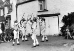 Morris dancers, Forest of Dean 1960 giclee art print