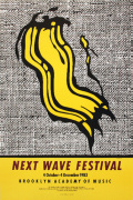 Next Wave Festival art print
