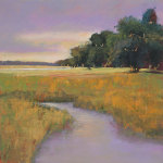 Placid Marsh giclee art print