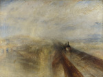 Rain, Steam, and Speed - The Great Western Railway giclee art print