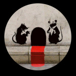 Red Carpet Rats art print