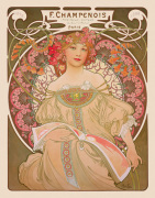 Reverie, 1897 art print