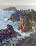 Rock Points at Belle-Ile, 1886 giclee art print