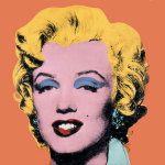 Shot Orange Marilyn, 1964 giclee art print