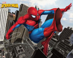 Spiderman - City art print
