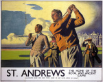 St Andrews - Golf art print