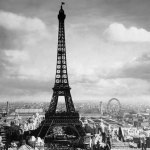 The Eiffel Tower, Paris France, 1897 giclee art print