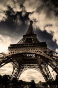 The Eiffel Tower (vertical) giclee art print