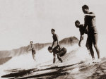 Tom & Crew, Diamond Head giclee art print