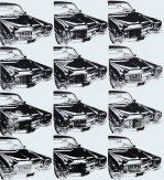 Twelve Cars, 1962 giclee art print