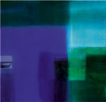 Untitled blue, 2004 art print
