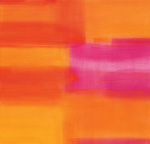 Untitled orange, 2004 art print