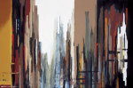 Urban Abstract No. 165 giclee art print
