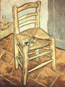 Van Gogh's Chair giclee art print
