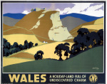 Wales - Undiscovered Charm art print