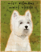 West Highland White Terrier giclee art print