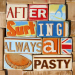 After Surfing Always a Pasty giclee art print