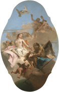 An Allegory with Venus and Time giclee art print