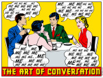 Art of Conversation giclee art print
