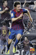 Barcelona - Messi  Collage art print