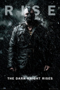 Batman The Dark Knight Rises - Bane Rise art print