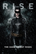Batman The Dark Knight Rises - Catwoman Rise art print