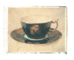 Black Teacup giclee art print