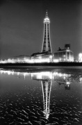 Blackpool Tower and Golden Mile c.2000 giclee art print