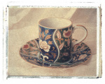 Blue Teacup giclee art print