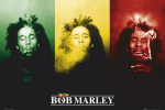 Bob Marley - Flag art print