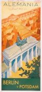 Brandenburg Gate,1937 giclee art print