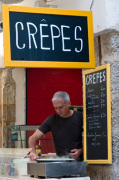 Crepes stand in Grasse, Provence, France giclee art print