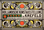 Dutch Art Exhibition, Krefeld 1903 giclee art print