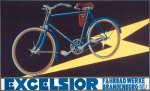 Excelsior Cycles, 1920 giclee art print