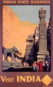 Indian State Railways - Ellora art print